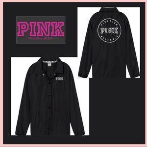 VS PINK Limited Edition Coach Windbreaker Jacket L